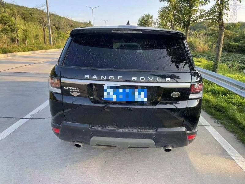 18年路虎揽胜运动SUV抵押车出售