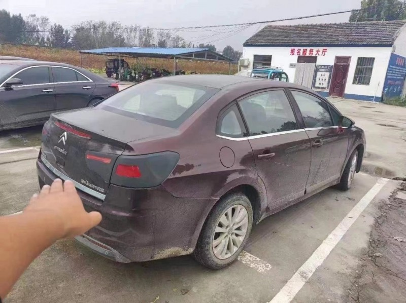 抵押车出售12年雪铁龙世嘉轿车