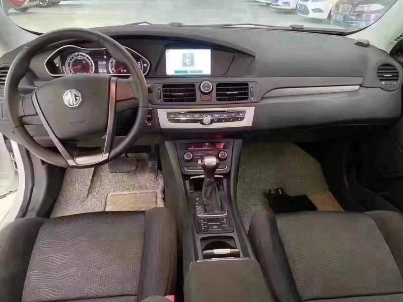 抵押车出售17年名爵GM6轿车