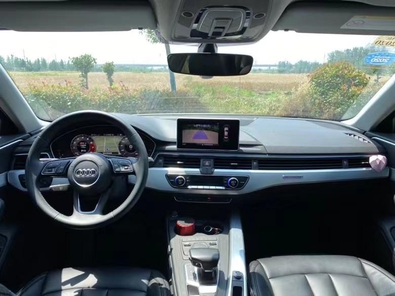18年奥迪A4L轿车抵押车出售