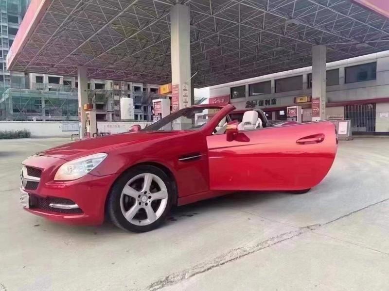 12年奔驰SLK轿车抵押车出售