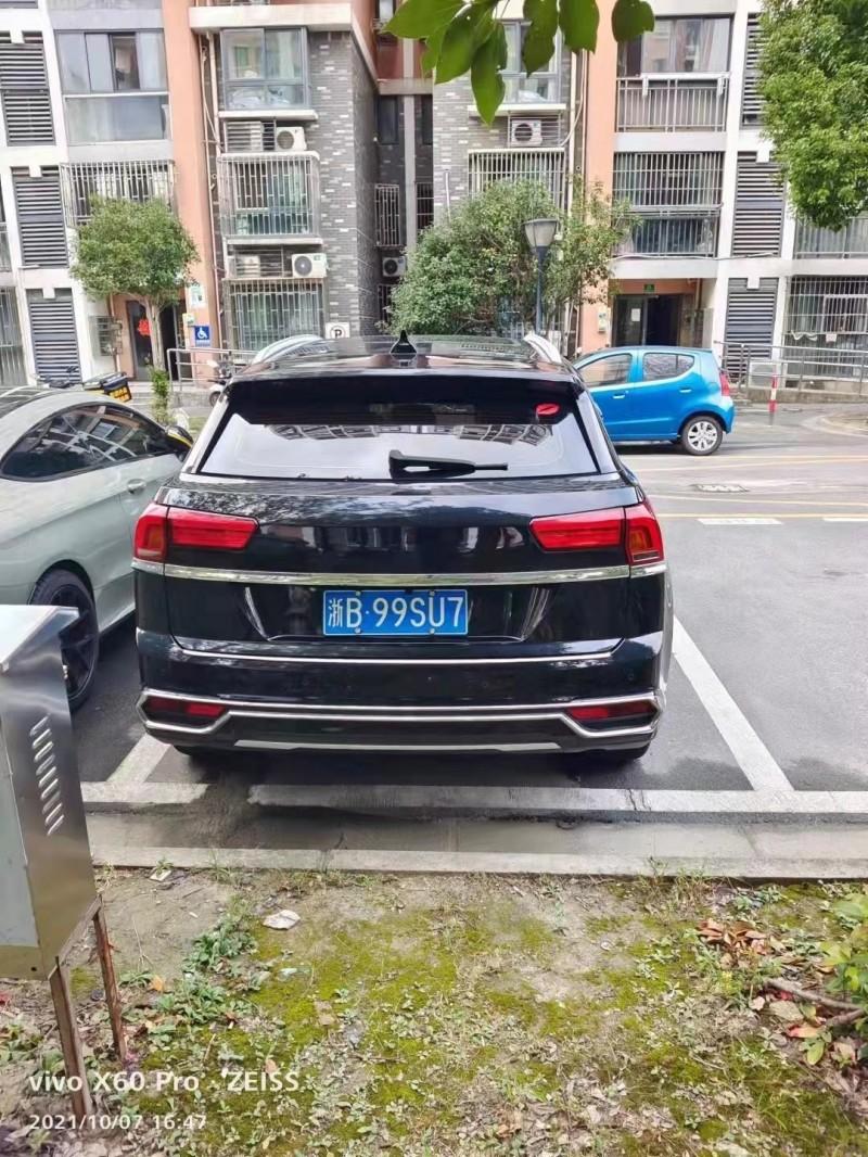 抵押车出售18年众泰大迈X7SUV