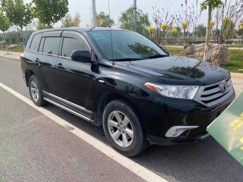 抵押车出售15年丰田汉兰达SUV