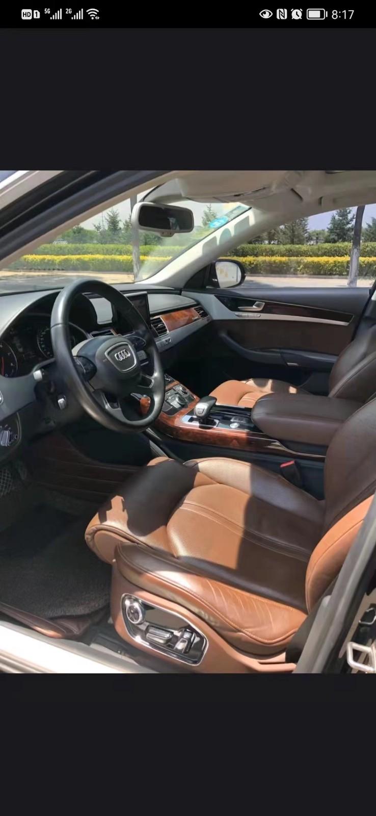 13年奥迪A8轿车抵押车出售